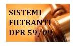 sistemi filtranti DPR 59/09 pellicole